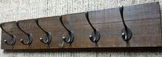 Vintage Style Rustic Coat Rack Hooks