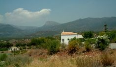 White cottage in Espuna, Spain
