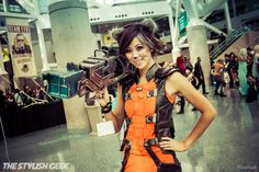 Rocket Raccoon at Comikaze 2014 #Rule63 #cosplay