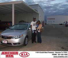 Congratulations to Jordan Harper on the 2013 Kia Forte