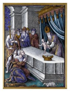 Plaque: la Présentation au Temple par PIERRE REYMOND - Musée national de la Renaissance (Ecouen)