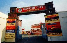 Spanish City Remembered: Enjoy these nostalgic pictures from our archive Backpacking Spain, Nostalgic Pictures, Spain Culture, Spain Fashion, Spain Holidays, Fun Fair, Driveway Gate, Personal History, Spain Travel