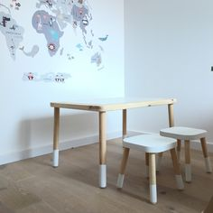 Flisat table and stool hack.