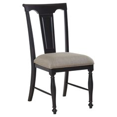 Avalon Furniture Rivington Hall Dining Chair - Set of 2 - The Avalon Furniture Rivington Hall Dining Chair – Set of 2 is an elegant pair in black rub-through coffee finish. This lovely couple flaunts a ...