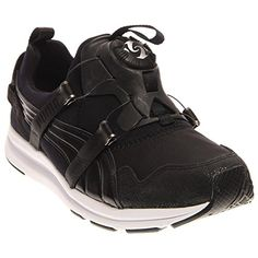 PUMA Womens Disc Sneaker BlackWhite 95 M US     More info could be found at  the image url. Athletic Shoes For Women · Women s Fitness and Cross-Training  ... 6cd2fb4ca
