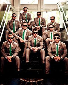 Groom's Wedding #green