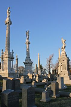 Laurel Hill Cemetery in Philadelpia...one of the oldest cemeteries in the US. It's also where my Dad grew up...such a cool place!