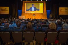 Former leader of the Liberal Democrats Nick Clegg speaks on the third day of the Liberal Democrats annual conference on September 20 2015 in...