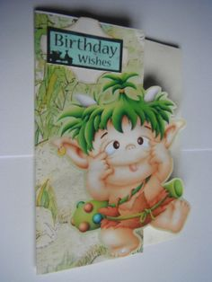 Birthday wishes card £3 - Creative Connections#craftfest