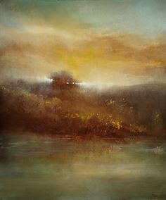 "Saatchi Art Artist Maurice Sapiro; Painting, ""Across The River"" #art"