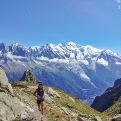 Trail Running, Chamonix, France