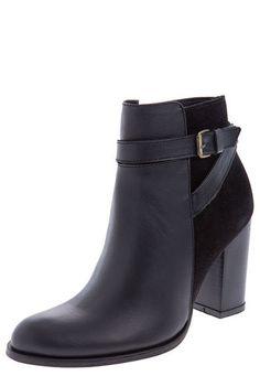 Botín Negro Stivali Stivali