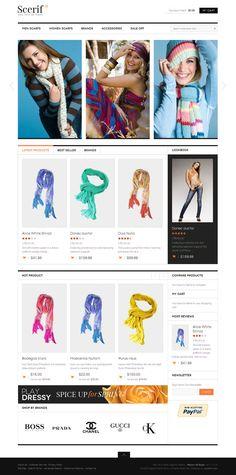 JM Scerif Magento Online Shop Theme