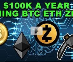 Cryptocurrency for Beginners - News, Trading, Recommandation: $100K Mining Win Bitcoin Ethereum ZCash! - BTC ETH... 💰👍 #zcash #bitcoin #ethereum #bitcoin_mining #ethereum_mining
