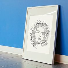 Lauryn Hill hand crafted micrography lyrics print by bybreens