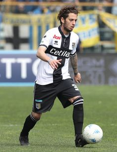 Jacopo Dezi of Parma Calcio in action during the serie B match between Parma Calcio and Foggia at Stadio Ennio Tardini on March 25 2018 in Parma Italy