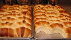 These dinner rolls are my favorite to make! They're easy, pretty quick, and taste AMAZING!! My husband gets really excited when I make them and they disappear FAST!