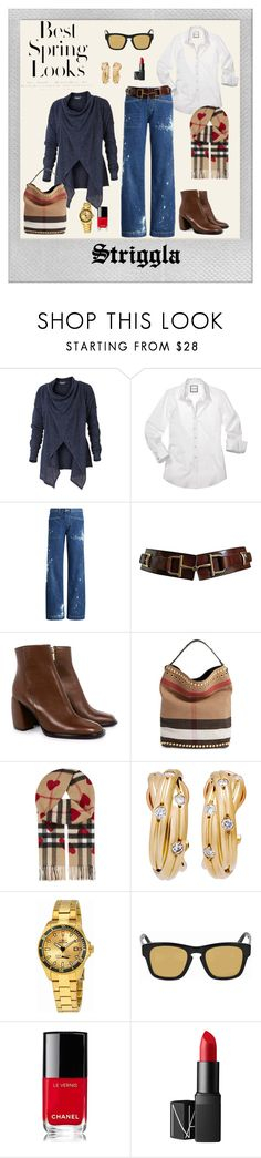 """""""Wide leg pants"""" by striggla ❤ liked on Polyvore featuring Polaroid, Royal Robbins, Ralph Lauren, TIBI, Burberry, Cartier, Invicta, Gucci, Chanel and NARS Cosmetics"""