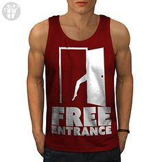 Single Cool Joke Funny Funny Print Men M Tank Top   Wellcoda - Funny shirts (*Amazon Partner-Link)