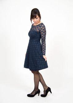 pattydoo sewing tutorial for lace jersey party dress using ella skater  dress pattern Diy Fashion No 84e5140e9
