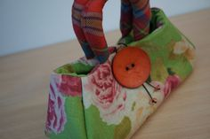 Handbag - Wee Fantoosh via Julia Cunningham handbags, and gifts, made in Scotland. Click on the image to see more!