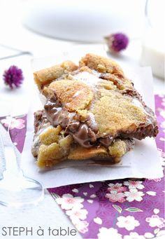 stephatable: S'mores cookies barres : attention tuerie du vendredi!!!