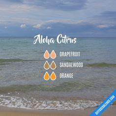 Aloha Citrus - Essential Oil Diffuser Blend