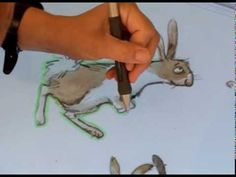 Watch Emily Gravett at work showing how her illustrations come to life