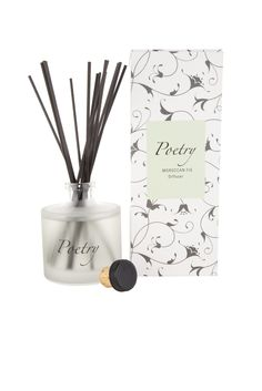 Moroccan Fig Diffuser from Poetry Poetry Collection, Home Scents, Confectionery, Lemon Grass, Fig, Are You Happy, Beautiful Outfits, Bath And Body, Diffuser