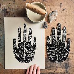 http://sosuperawesome.com/post/167397519187/block-printing-by-emily-kelley-on-etsy