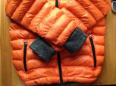 Как удлинить рукава у детской куртки