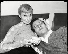 Joanne Woodward and Paul Newman. Aw.
