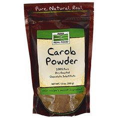 Carob Powder, Dry Roasted, 12 oz, NOW Foods *** Continue to the product at the image link.