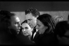 Tom Hiddleston and Natalie Portman