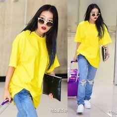 Kim Yubin, Wonder Girls, Idol Fashion / Style, Kpop Wonder Girl Kpop, Yubin Wonder Girl, Korean Airport Fashion, Korean Fashion, Swag Outfits, Girl Outfits, Kpop Fashion, Girl Fashion, Hyuna