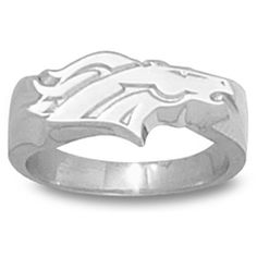 DENVER BRONCOS LOGO 3/8 Inch 2-D RING...I have this ring...and I lost it :(