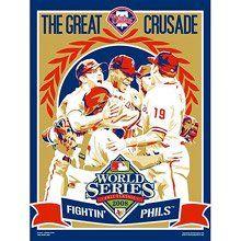 2008 World Series, Propaganda Art, Old Ads, Philadelphia Phillies, Champion, Baseball Cards, Artwork, Sports, Illustrations