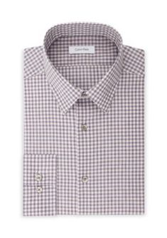 Calvin Klein Men's Calvin Klein Steel Non Iron Performance Slim Fit Dress Shirt - Deep Purple - 15.5 32/33