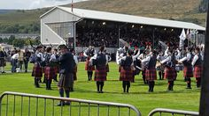 The Frasers of Lovat pipe band