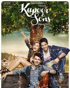 """""""Kapoor And Sons"""", directed by Shakun Batra, Featuring Sidharth Malhotra, Alia Bhatt and Fawad Afzal Khan. The movie is set to be released on 18th March.Kapoor & Sons is a 2016 upcoming Bollywood romantic-comedy film, which is being directed by Shakun Batra and produced by Karan Jo"""