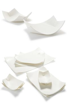 wayne mcara - ceramic plates that look like paper <3