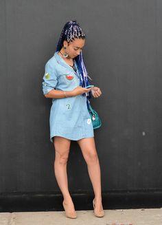 Jeans: aplicações são a nova mania dos fashionistas, confirma street style