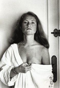 Isabelle Hupert by Helmut Newton...