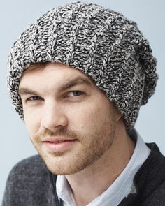 Create a knit-style ribbed hat. Shown in Bernat Denimstyle Free Crochet  Pattern (Bernat requires making an account. e0ed2126c1d3