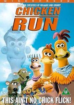 Chicken Run DVD from Nick Park (Aardman Animations), Mel Gibson, Jane Horrocks Chicken Run Movie, Chicken Runs, Dreamworks Animation, Disney And Dreamworks, Animation Movies, Comedy Drama Movies, Comedy Film, All About Steve, Shaun The Sheep