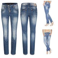 Neu Eingetroffen :➤ BLUE MONKEY Damen Slim Fit Jeans mit hohem Bund JANE 5101 Jetzt shoppen auf www.myjeans-shop.de !