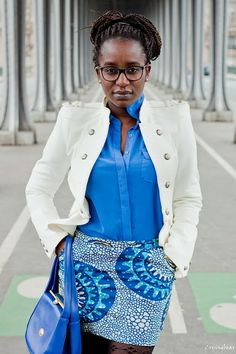 Afro Streetstyle~Latest African Fashion, African women dresses, African Prints, African clothing