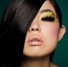 Cómo Maquillarse En Tonos Amarillos CentralMODA.COM