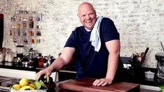 Tom Kerridge's Proper Pub Food - BBC - Food - Recipes : Fish and chips with tartare sauce and pea purée