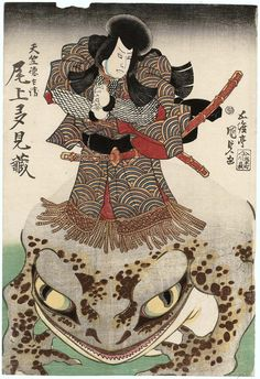 Actor Onoe Tamizô II as Tenjiku Tokubei   Museum of Fine Arts, Boston